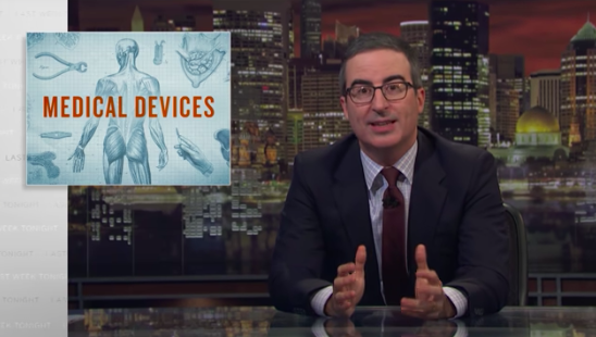 Last Week Tonight with John Oliver, medical devices